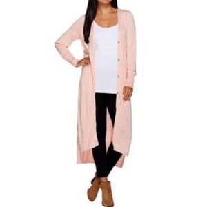 H by Halston knit duster cardigan 💗